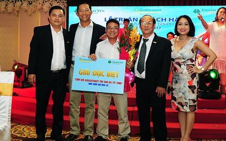 Khách hàng vỡ òa hạnh phúc khi trúng thưởng căn hộ Goldcoast - Nha Trang