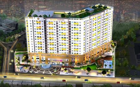 Eximrs phân phối 400 căn hộ giá 880 triệu đồng tại mặt tiền Hương Lộ 2 quận Bình Tân