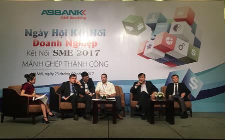 Nhiều gói ưu đãi của ABBANK tại Ngày hội Kết nối doanh nghiệp vừa và nhỏ