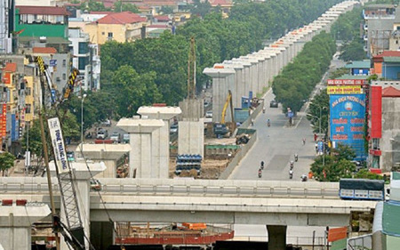 Hà Nội: Đẩy nhanh tiến độ GPMB tuyến đường sắt đô thị số 3