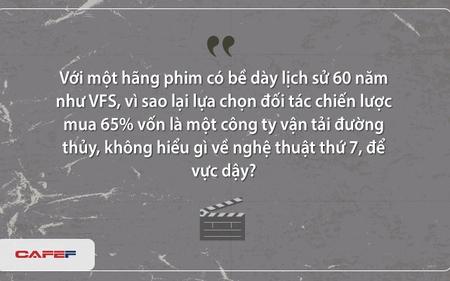 Bài học từ bi kịch mua thâu tóm Hãng phim truyện Việt Nam