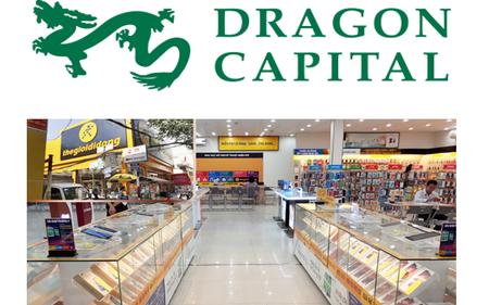 Thế giới di động (MWG) vượt qua Vinamilk (VNM) để trở thành khoản đầu tư lớn nhất của Dragon Capital
