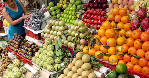 Imports of fruit from Thailand, re-exported to China