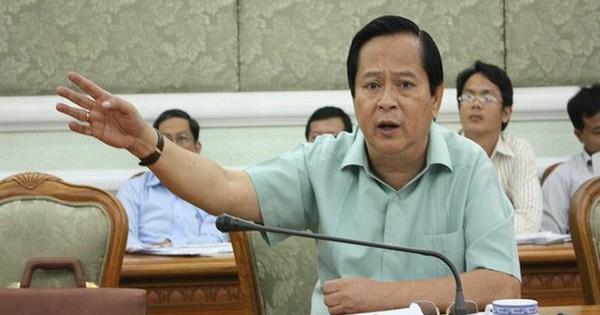 Chân dung cựu Phó Chủ tịch TPHCM Nguyễn Hữu Tín vừa bị khởi tố