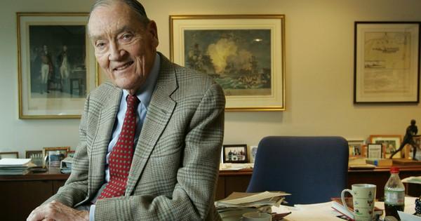 Huyền thoại đầu tư Jack Bogle qua đời ở tuổi 89