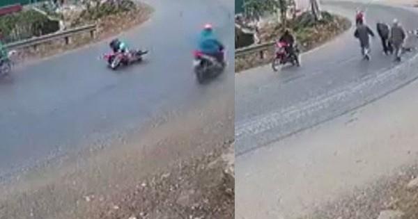 Lãnh đạo xã lý giải nguyên nhân ''khúc cua tử thần'' khiến người đi đường tự ngã ở Yên Bái