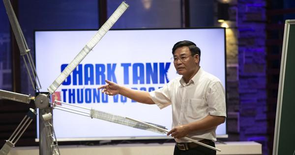 Ý tưởng mới ở trên giấy, nhà khoa học tuabin gió đã chào bán công ty với giá 120 triệu USD, nhưng ngạc nhiên nhất là kiến thức Toán Lý của shark Hưng