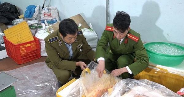 Phát hiện hơn 1 tấn thịt vịt, trứng non không đảm bảo chất lượng tại Hà Nội