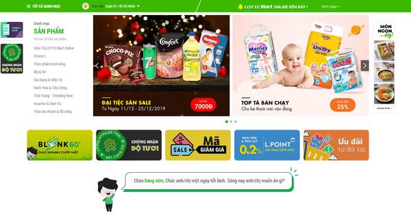 Trang thương mại điện tử Lotte.vn dừng hoạt động từ 20/1/2020?