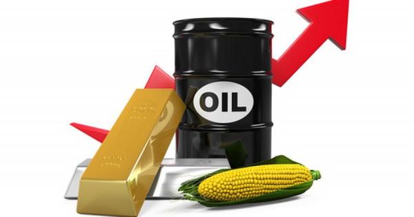 Thị trường ngày 31/12: Giá vàng tăng tiếp, dầu lên đỉnh cao nhất 3 tháng