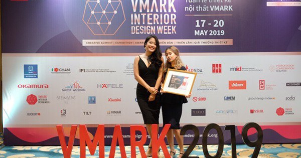 Thiết kế văn phòng lấy cảm hứng từ trường đại học đoạt giải Vàng Vmark 2019