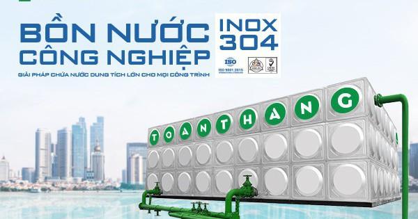 Bể Inox lắp ghép: Giải pháp chứa nước cho các công trình