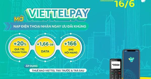 ViettelPay - Tiên phong và thúc đẩy nền kinh tế số không dùng tiền mặt