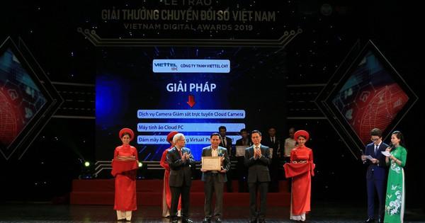 Viettel IDC: Nhà cung cấp dịch vụ điện toán đám mây đạt giải thưởng chuyển đổi số 2019