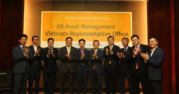Công ty quản lý tài sản KB thành lập văn phòng đại diện tại Việt Nam