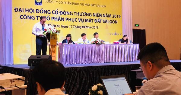 ĐHĐCĐ Phục vụ mặt đất Sài Gòn (SGN): Vượt chỉ tiêu 2018 nhờ khách hàng chuyển đổi cơ cấu tàu bay, trả cổ tức 70%