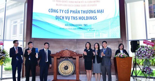 13 triệu cổ phiếu TNS Holdings niêm yết trên HoSE, giá tham chiếu 30.000 đồng/cp
