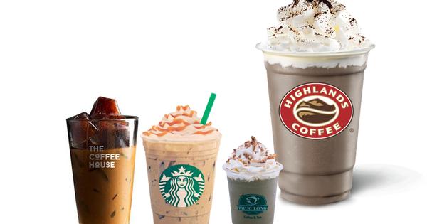 'Đại chiến' chuỗi cà phê: Highlands quy mô áp đảo, The Coffee House tăng trưởng gấp đôi để vượt mặt Starbucks