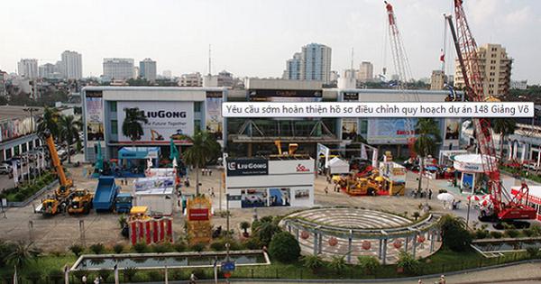 VEFAC dự kiến tăng vốn thêm 12.200 tỷ để đầu tư dự án 148 Giảng Võ và Trung tâm triển lãm Quốc gia