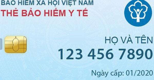 Từ tháng 1-2020 sẽ phát hành thẻ BHYT điện tử