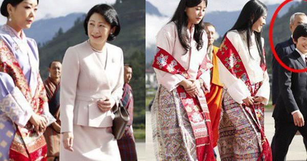 Gia đình Thái tử Nhật Bản đặt chân đến ''Vương quốc hạnh phúc'', cộng đồng mạng phát sốt với khí chất ngút ngàn của các thành viên hoàng gia Bhutan