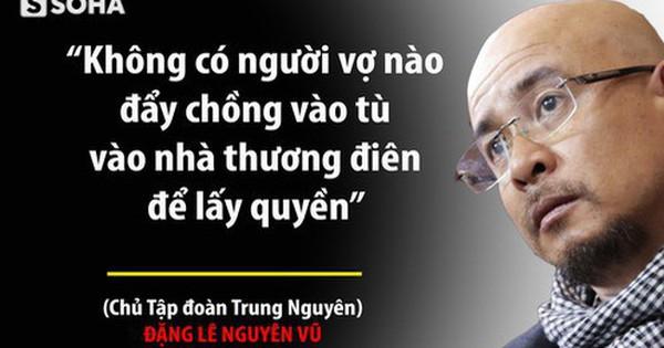 """Ông Đặng Lê Nguyên Vũ: """"Trung Nguyên có sụp đổ, Qua cũng không phá vỡ nguyên tắc của mình"""""""