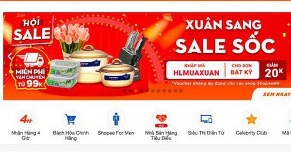 Shopee thu phí, người bán hàng online ''dọa'' tăng giá