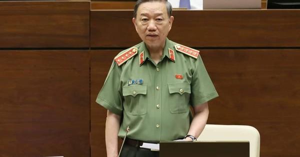 TRỰC TIẾP: Quốc hội chất vấn Bộ trưởng Bộ Công an Tô Lâm