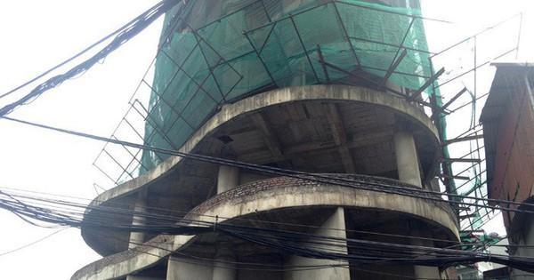 Tòa tháp 'ma' hoang lạnh, ngàn tỷ đổ nát giữa Thủ đô