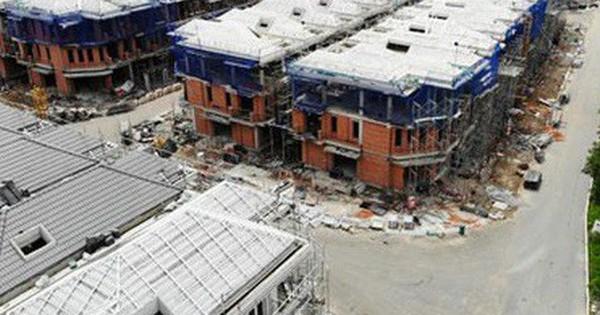 Xây liều 110 biệt thự ở khu Nam Sài Gòn