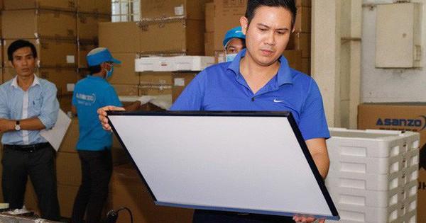 Ông Phạm Văn Tam nói trên báo Tuổi Trẻ: Sản phẩm của Asanzo ''không phải là hàng Việt Nam''