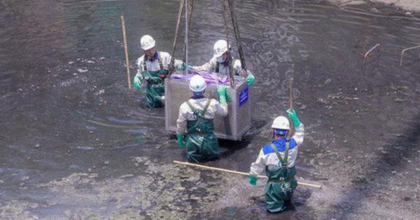Nước Hồ Tây cuốn trôi kết quả thử nghiệm ở sông Tô Lịch: ''Không thể nói một việc''