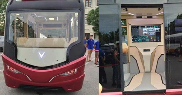 Xuất hiện hình ảnh được cho là chiếc xe buýt của VinFast với thiết kế