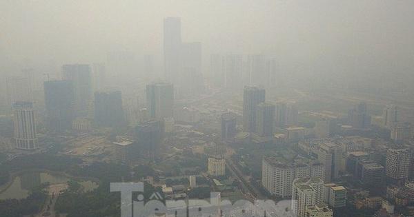 [NÓNG]: Ô nhiễm không khí vọt lên ngưỡng nguy hại, lan rộng