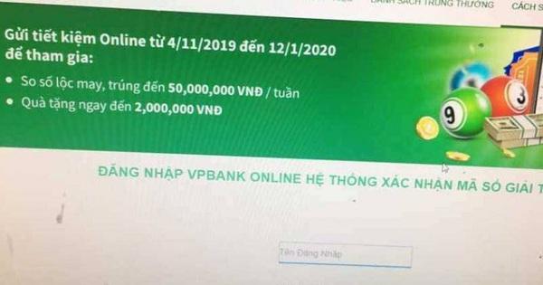 """2 phút, 18 giao dịch và 460 triệu đồng bị """"ngân hàng"""" giả mạo VPB lừa đảo"""