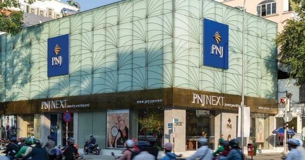 Cổ phiếu PNJ lên mức giá cao nhất trong vòng 18 tháng, vốn hóa thị trường đạt gần 20.000 tỷ đồng