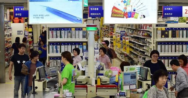 GDP bình quân đầu người ở Hàn Quốc giảm trong năm 2019