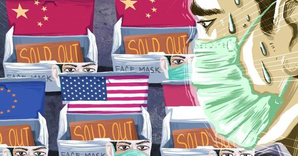 Trung Quốc lần đầu tiên phải nhập khẩu trang, Foxconn phải tự ''cứu mình'', coronavirus đang xáo trộn chuỗi cung ứng khẩu trang toàn thế giới