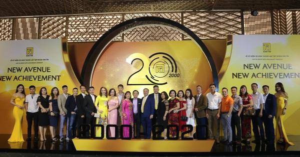 Lễ kỷ niệm 20 năm thành lập tập đoàn Kim Tín