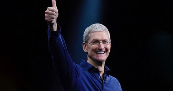 Có một quý kinh doanh tốt nhất từ trước đến nay, Apple ''chìm ngập'' trong doanh thu và lợi nhuận cao