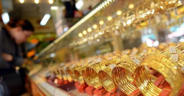 Giá vàng cao nhất trong 10 năm trước ngày vía Thần Tài