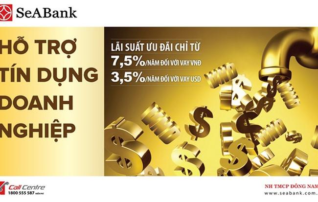SeABank cho vay doanh nghiệp với lãi suất chỉ từ 7,5%/năm