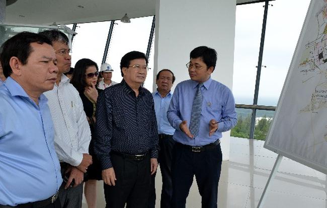 Lọc dầu Dung Quất là biểu tượng của kinh tế Quảng Ngãi