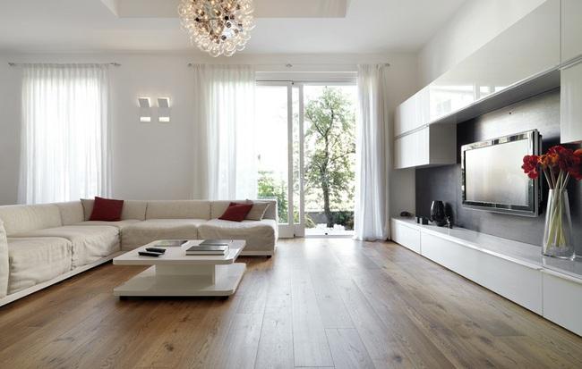 Sử dụng sàn gỗ hay lót gạch cho nền căn hộ chung cư