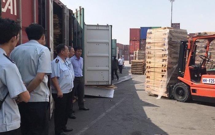 Phát hiện 25 container gỗ xẻ đội lốt gỗ cao su, trị giá 11 tỉ đồng - xổ số ngày 22102019