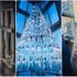 Chiêm ngưỡng cây thông Noel độc đáo được làm từ 245 miếng thủy tinh