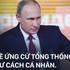 """Khẳng định tự ứng cử Tổng thống, ông Putin lý giải vì sao không có đối thủ """"ngang cơ"""""""