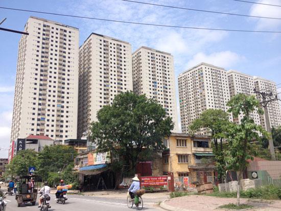 Thị trường bất động sản Hà Nội liên tục được bổ sung nguồn cung mới.