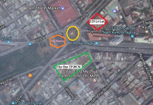 Quanh vòng xoay Bến Thanh tương lai là thủ phủ đất kim cương Sài Gòn của Bitexco.