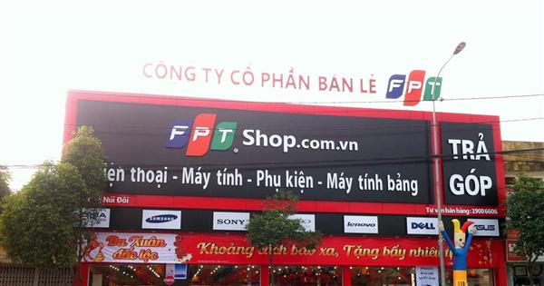 Việc tìm nhà đầu tư cho FPT Shop sẽ không chốt cuối năm nay theo kế hoạch - Ảnh: FPT Shop